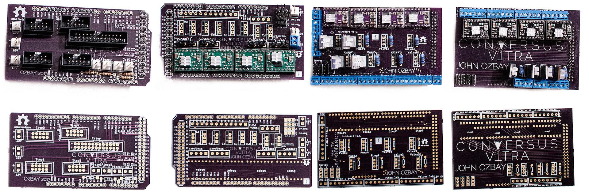 Conversus Vitra PCBs - John Ozbay